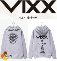 VIXX1s tVoice Visual Value in Excelsis hoodie VIXX LOGO BTS EXO hoodie kpop kpop coat