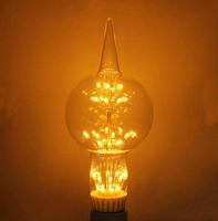 E27 LED Bulb G80 3W Warm White G80 Edison Style Light Bulb Globe Retro Edison Light Bulb 220-240V Decoration Style