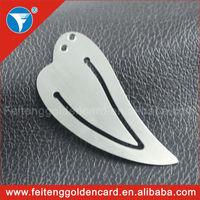 Hot-sale New Idea Cheap Copper Blank Silver Bookmark