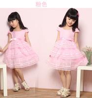 Peacemaker Girl dress girl clothing kids dress lace princess ball gown  summer little girl dress sleeveless