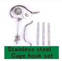 bamboo bird cage hooks set stainless steel bird cage hook set birdcages accessorise wholesale