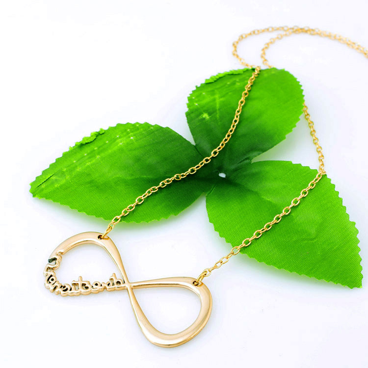 Free Shipping Fashion One Direction Directioner Infinity Necklace Jewlery