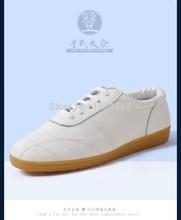 Ушу обувь осень и зима кожа обувь брюс ли винтажный китайский кунг-фу ткань обувь ушу шоссе кроссовки
