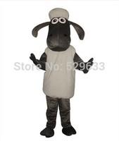 animal mascot costume shaun sheep mascot costume with free shipping