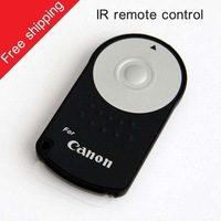 Intelligent  wholesale Wireless IR Infrared Camera Shutter Remote Control for Canon RC-6 7D 50D T1i T2i