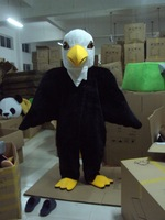 Promotion Quality Mascot Eagle Mascot Costume Adult Cartoon Character Outfit Suit Fancy Dress for Party Carnival free shipping