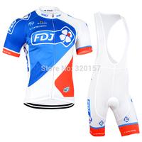 sportswear  new FDJ  mtb Cycling jersey bicicleta mountain bike ropa ciclismo Bicycle maillot Cycle Clothing BIB Shorts set