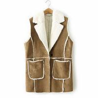 Brand new desigual high quality plus size women casual vest,roupas femininas Simulation rabbit fur woman clothes outwear coat