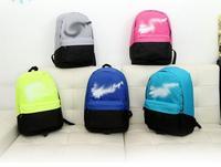 Shoulder bags New 2015 Fashionable Men Women school Bag mochila feminina backpack Casual patchwork color canvas computer Bags