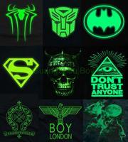 Men Muscle hip hop Neon Print emoji t shirt/Party&Club Night light Freedom Novelty Rock punk superman Boy london wolf Tshirt