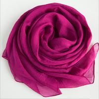Chiffon and scarf  Red wine