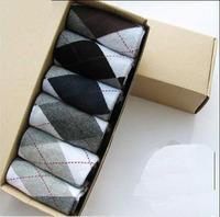 Boneless socks high quality men's socks male stockinets thick socks male socks 6pairs/box