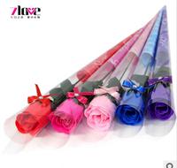 Free shipping,5 pcs,Valentine gift. roses single beam tube tip drill,  wedding flowers simulation Christmas celebration