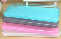 Free shipping 20pcs transparent matte tpu case cover for Lenovo S858T with excellent quality different colours