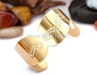 Popular The new Korean titanium bracelet opening golden  beard female Bracelet Stainless steel jewelry wholesale