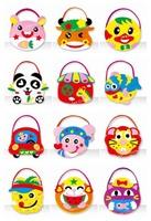 Free shipping Kids Toy DIY Craft Kit - EVA Bags  - 12sets/lot LA0323