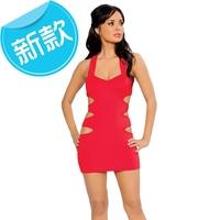 2015 New Fashion Sexy Women Hollow Bandage Bodycon Cocktail Club Party Dress