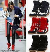 2014 arrival Isabel Marant women's shoes elevator ysabel skateboarding shoes women ankle boots