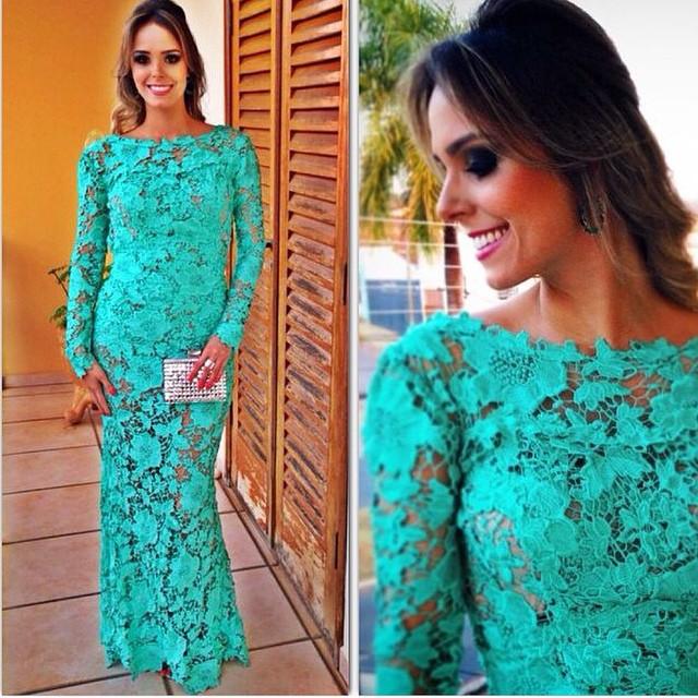 Женское платье Lace dress  long dress 2014 цена