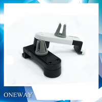 100pcs/lot Portable Car Air Vent Mount Cradle Stand Holder for Airframe Universal 3.5-6.3 inch Smartphone