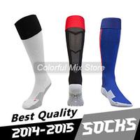 Free Shipping 2015 DI MARIA FALCAO RONNEY Soccer Socks Best Thai Quality Soccer Jerseys football Socks