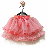 HOT summer New arrival Children tulle tutu skirt Ballet dance party princess costume kids clothes lace baby girls clothing HDA03