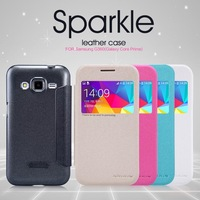 NILLKIN New Leather Case For Samsung G360 (Galaxy Core Prime) Flip Leather Cove For Samsung G360 Free Shipping