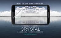 MOQ 2PC Nillkin LCD CRYSTAL Anti - fingerprint Screen protector film for MOTO Nexus 6 ,Free shipping