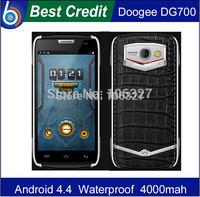 leather case+ film gift!) Original DOOGEE TITANS2 DG700 MTK6582 Quad Core Android 4.4 phone 3G Mobile Phone WCDMA cellphone/Eva