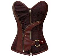 European/American corset body shaping  Dila Meng gather Slim waist corset vest