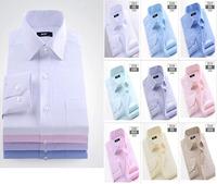 Mens shirts fashion 2014 Long sleeve men brand cotton Male Slim Casual Shirts Men's Cothing Free Shipping