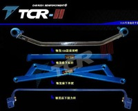 FOR  Honda City Fan Ling faction balance bar top bar front anti-roll trolley tilt rod modification strengthening reinforcement