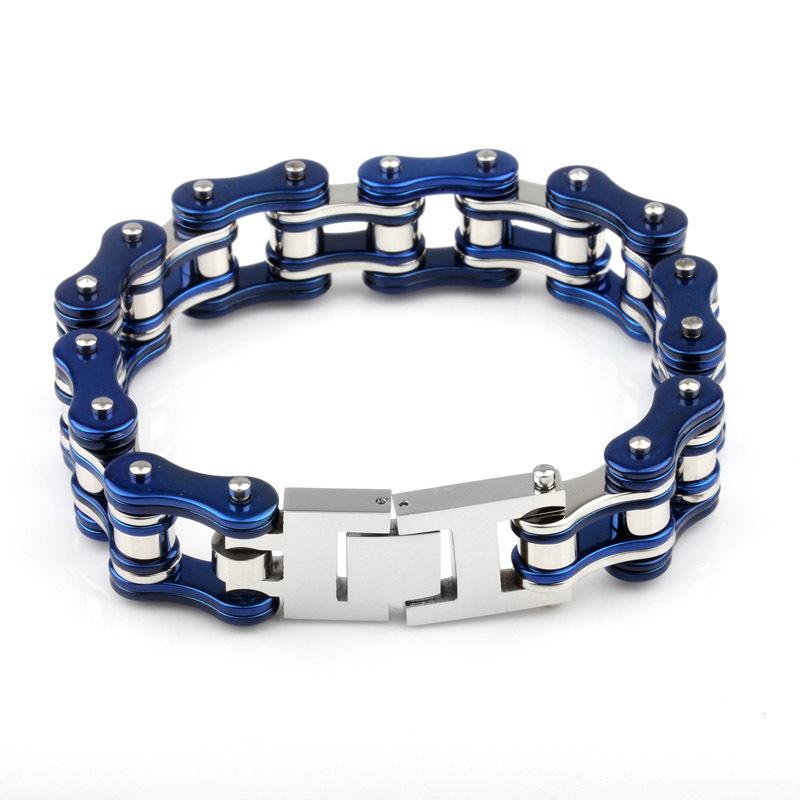 European and American new wave of male essential fashion trend titanium steel bracelet titanium steel bracelet wholesale retro p(China (Mainland))