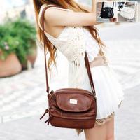 2015 new fashion women messenger bags tassel zipper small shoulder bag handbag casual-bag bolsas femininas free shipping YYJ901