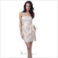 wholesale-2014 New Fashion Short Design Dress Women Lace Bridal Dinner  Birthday Party POP Street Dresses154141