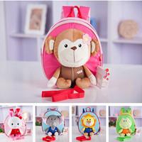 Animal Prints cute baby school bag gift cartoon backpacksbags  free shipping