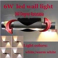 Modern 2W Led Wall Light Home Decor Restroom Bathroom Reading Wall Lamp Hotel Lamp Lights zz212