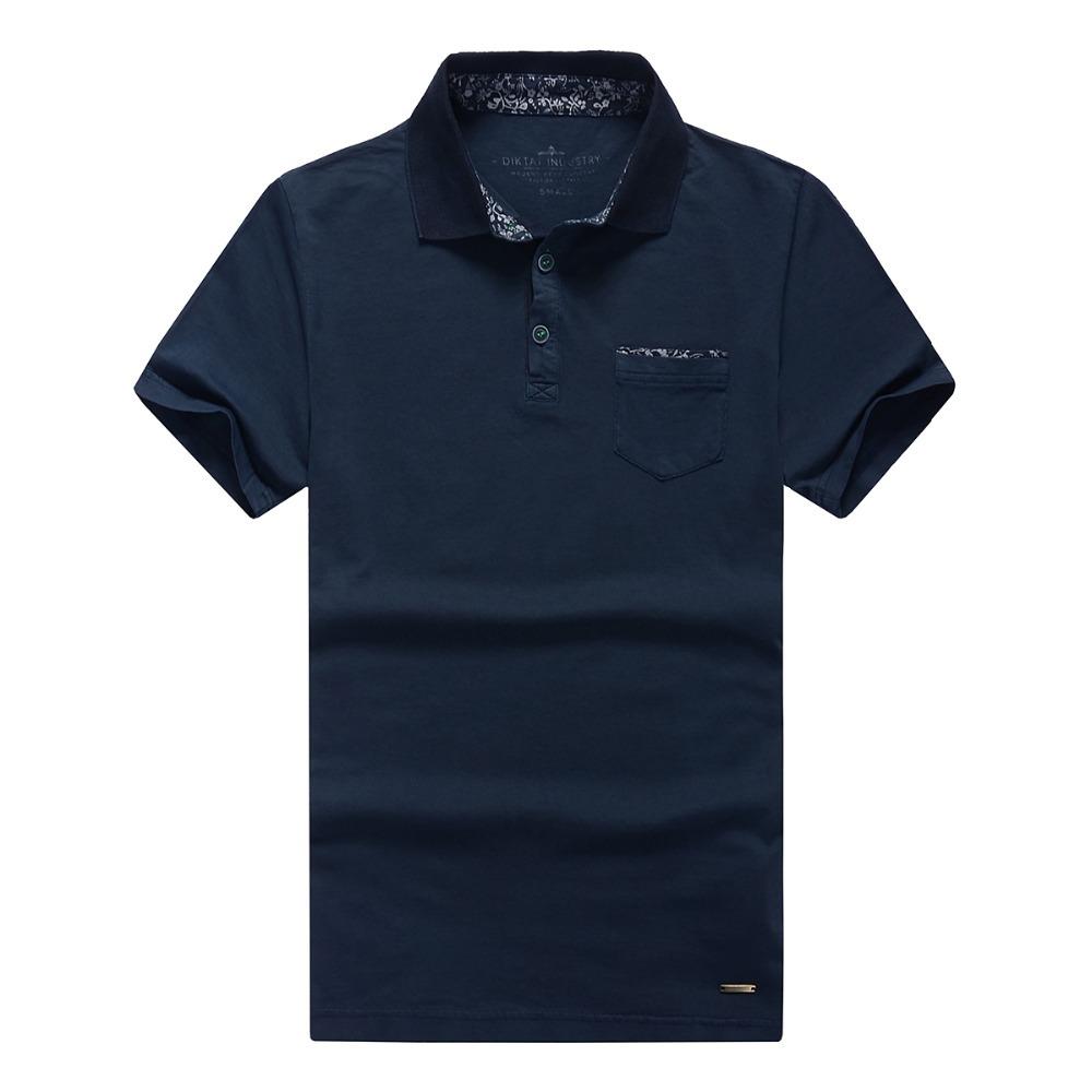 Designer Brand DIKTAT Men's Summer Custom Fit Polo shirt Men Short sleeve polo shirts Freeshipping Roupas Masculinas Manga curta(China (Mainland))