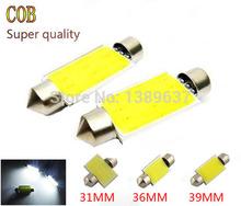 2X 31mm 36mm 39mm C5W 12V 3W Car led festoon light COB 12 chips Auto led LIGHT LAMP bulbs car light (China (Mainland))