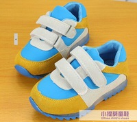 free shipping 2014 spring baby hitting scene Sports leisure shoes ,Children running shoes