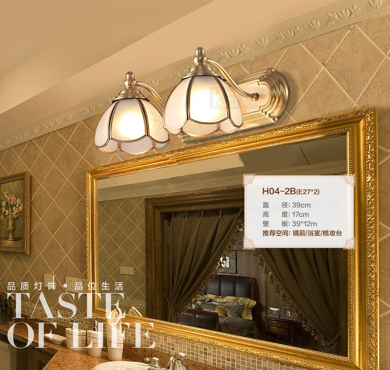 Iluminacion Baño Vintage:arms-Retro-font-b-Bathroom-b-font-copper-wall-lamp-font-b-vintage-b