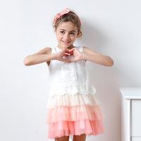 Girls new summer dress baby children tutu dresses children Clothing  AA412DS-20