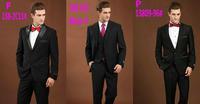 2015 Brand Men Dress Suit 2PCS Top Quality Men Slim Fit Suits Fashion Wool Suit  Male Autumn Business Wedding Suits 1X54