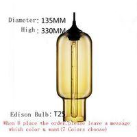 Pharos Pendant Lights Niche Modern Glass Design Hanging Lamp Vintage Edison bulb Lighting Fixture Lustres Abajur Luminarias