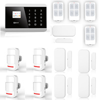 Wireless GSM PSTN Home Burglar Intruder Alarm System Built-in Loud Siren 8218G English & Russian Version Manual P492