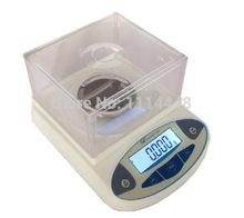 500 x 0.001 g Digital Lab balanza analítica escala de laboratorio joyería electrónico w / Sensor de peso display LCD