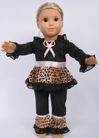 """Free shipping!!! hot 2014 new style Popular 18"""" American girl doll dress clothes set"""