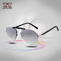 Fashion Metal Frame Men Sunglasses Coating Sunglass Male Fishing Outdoor Sports Cycling Glasses Eyewear ooculos masculino gafas
