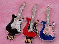 HOT pendrive 16gb simulation guitar pen drive 16gb mini violin USB2.0 16gb free shipping