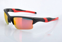 Designer Sports Acetate Sunglass Fashion Eyeglass Men's/Women's Brand Half Jacket OO9154 Black Sunglass Fire Iridium Lens UV400